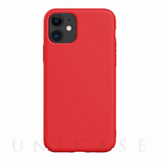 【iPhone11 ケース】Nature Series Silicone Case (red)
