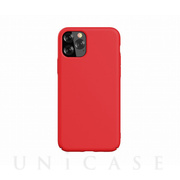 【iPhone11 Pro Max ケース】Nature Series Silicone Case (red)