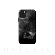 【iPhone11 Pro ケース】Marble series case (black)