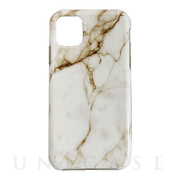 【iPhone11 Pro ケース】Marble series case (white)