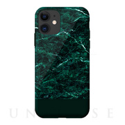 【iPhone11 ケース】Marble series case (green)