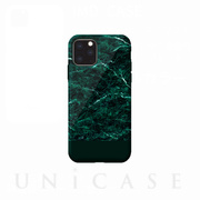 【iPhone11 Pro Max ケース】Marble series case (green)