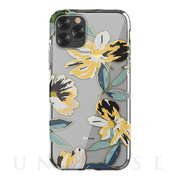 【iPhone11 Pro ケース】Perfume lily series case (yellow)