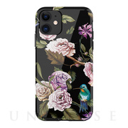 【iPhone11 ケース】Perfume lily series case (black)