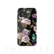 【iPhone11 Pro Max ケース】Perfume lily series case (black)