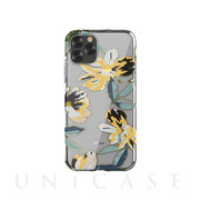【iPhone11 Pro Max ケース】Perfume lily series case (yellow)