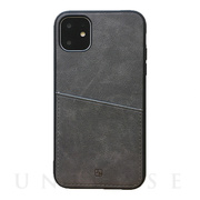 【iPhone11 Pro ケース】ANTIQUE POCKET (Gray)