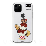 【iPhone11 Pro ケース】CLEAR SOFT SUMMER DOLCE (SHOOKY BT21)