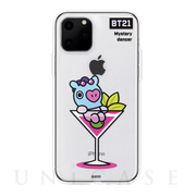 【iPhone11 Pro ケース】CLEAR SOFT SUMMER DOLCE (MANG BT21)