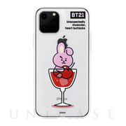 【iPhone11 Pro ケース】CLEAR SOFT SUMMER DOLCE (COOKY BT21)