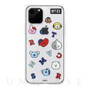 【iPhone11 Pro ケース】CLEAR SOFT Universtar School (G1 BT21)