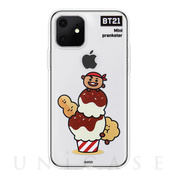【iPhone11 ケース】CLEAR SOFT SUMMER DOLCE (SHOOKY BT21)