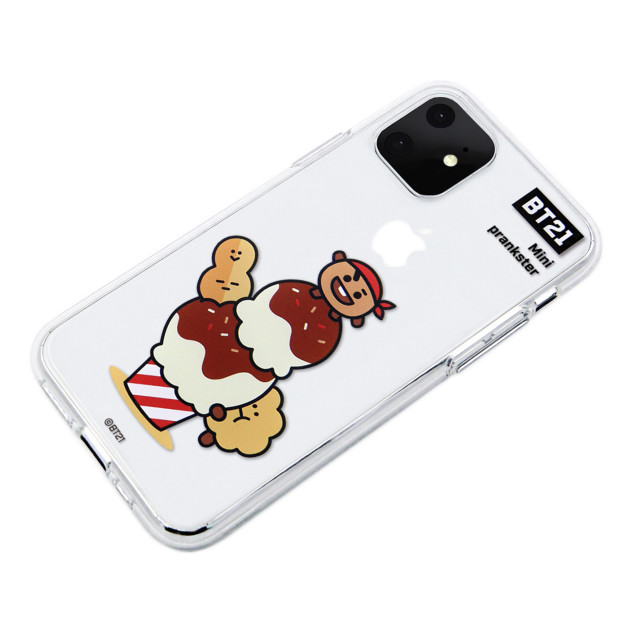 【iPhone11 ケース】CLEAR SOFT SUMMER DOLCE (SHOOKY BT21)サブ画像