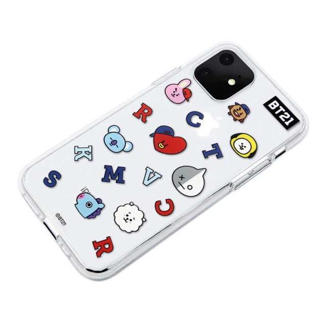 【iPhone11 ケース】CLEAR SOFT Universtar School (G1 BT21)サブ画像