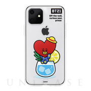 【iPhone11 ケース】CLEAR SOFT SUMMER DOLCE (TATA BT21)