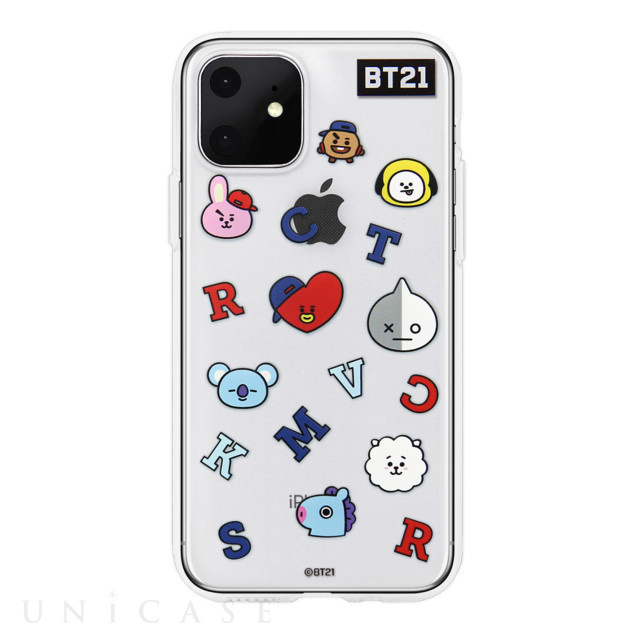 【iPhone11 ケース】CLEAR SOFT Universtar School (G1 BT21)