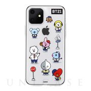 【iPhone11 ケース】CLEAR SOFT Universtar School (G2 BT21)