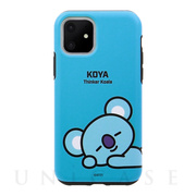 【iPhone11 ケース】DUAL GUARD BASIC (KOYA BT21)