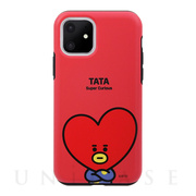 【iPhone11 ケース】DUAL GUARD BASIC (TATA BT21)