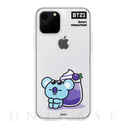 【iPhone11 Pro Max ケース】CLEAR SOFT SUMMER DOLCE (KOYA BT21)