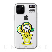 【iPhone11 Pro Max ケース】CLEAR SOFT SUMMER DOLCE (CHIMMY BT21)