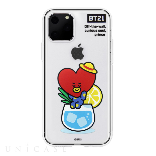 【iPhone11 Pro Max ケース】CLEAR SOFT SUMMER DOLCE (TATA BT21)