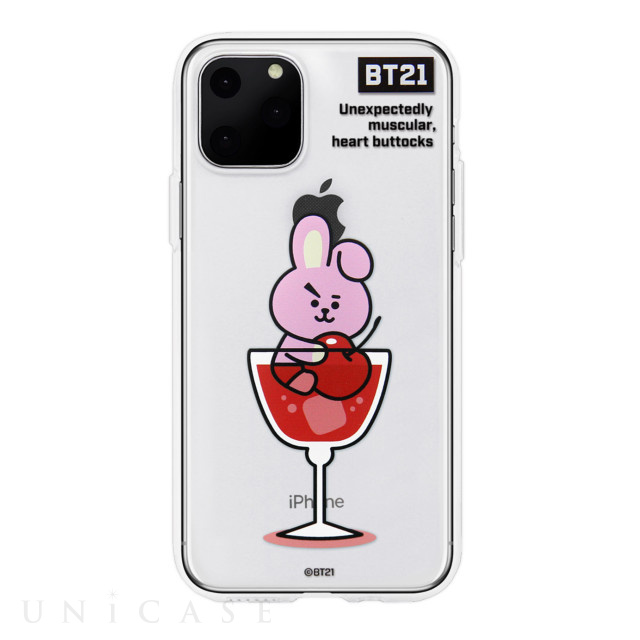 【iPhone11 Pro Max ケース】CLEAR SOFT SUMMER DOLCE (COOKY BT21)