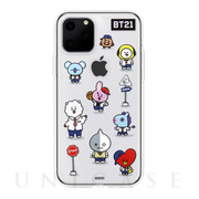 【iPhone11 Pro Max ケース】CLEAR SOFT Universtar School (G2 BT21)