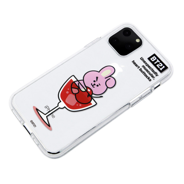 【iPhone11 Pro Max ケース】CLEAR SOFT SUMMER DOLCE (COOKY BT21)サブ画像