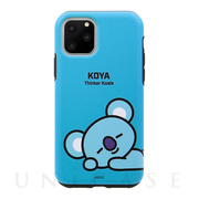 【iPhone11 Pro Max ケース】DUAL GUARD BASIC (KOYA BT21)