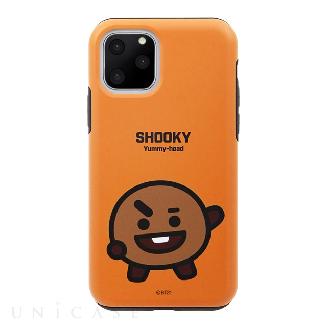 【iPhone11 Pro Max ケース】DUAL GUARD BASIC (SHOOKY BT21)