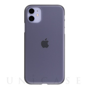 【iPhone11 ケース】Air Jacket (Smoke matte)