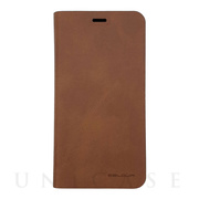 【iPhone11 Pro ケース】Plain Folio  (Brown)