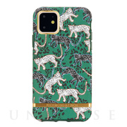 【iPhone11 ケース】Green Leopard - Go...