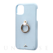 【iPhone11 ケース】SHELL RING Katie (ブルー)