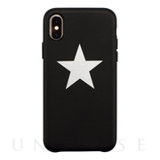 【アウトレット】【iPhoneXS/Xケース】OOTD CASE for iPhoneXS/X (black star)