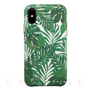 【アウトレット】【iPhoneXS/Xケース】OOTD CASE for iPhoneXS/X (green leaf)