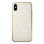 【アウトレット】【iPhoneXS/X ケース】Glass Shell Case for iPhoneXS/X (Gold)