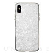【アウトレット】【iPhoneXS/X ケース】Glass Shell Case for iPhoneXS/X (White)