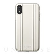 【アウトレット】【iPhoneXR ケース】ZERO HALLIBURTON Hybrid Shockproof case for iPhoneXR (Silver)