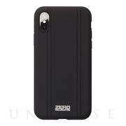【アウトレット】【iPhoneXS ケース】ZERO HALLIBURTON Hybrid Shockproof case for iPhoneXS (Black)