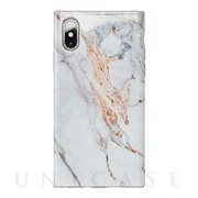 【アウトレット】【iPhoneXS/X ケース】Maelys Collections Marble for iPhoneXS/X (White)