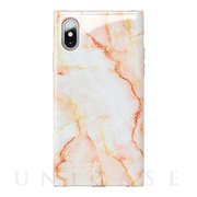 【アウトレット】【iPhoneXS/X ケース】Maelys Collections Marble for iPhoneXS/X (Pink)