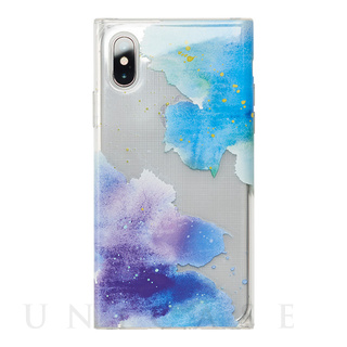 【アウトレット】【iPhoneXS/X ケース】Louna Collections Water Color for iPhoneXS/X (night)