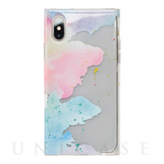【アウトレット】【iPhoneXS/X ケース】Louna Collections watercolor for iPhoneXS/X (pale)