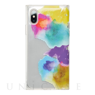 【アウトレット】【iPhoneXS/X ケース】Louna Collections watercolor for iPhoneXS/X (vivid)