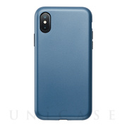 【アウトレット】【iPhoneXS/X ケース】Smooth Touch Hybrid Case for iPhoneXS/X (Azure Blue)