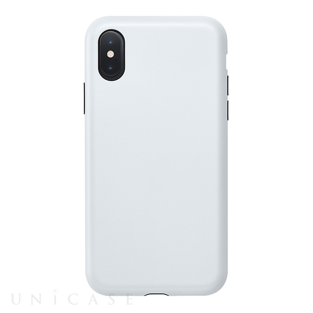 【アウトレット】【iPhoneXS/X ケース】Smooth Touch Hybrid Case for iPhoneXS/X (Silky White)