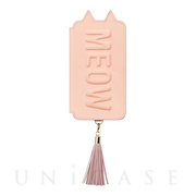 【アウトレット】【iPhoneXS/X ケース】Tassel Tail Cat for iPhoneXS/X (Pink)
