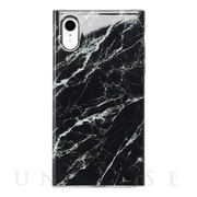 【アウトレット】【iPhoneXR ケース】Maelys Collections Marble for iPhoneXR (Black)
